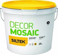 Штукатурка декоративна «мозаїка» Siltek Mosaic, 25 кг