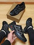 Мужские кроссовки черные, фото 3