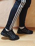 Мужские кроссовки черные, фото 4