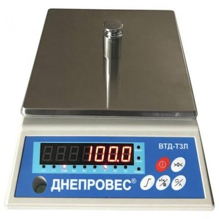 Весы фасовочные Днепровес ВТД Т3Л-1 (1 кг), фото 2