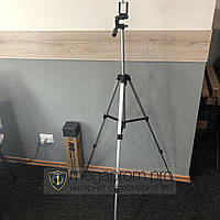 Компактный штатив трипод Tripod 330A тренога с держателем для телефона экшн камер смартфонов и видеокамер