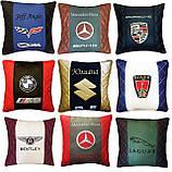 Подушка с логотипом в машину, подушки-подголовники, автоаксессуары, фото 4