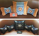 Подушка с логотипом в машину, подушки-подголовники, автоаксессуары, фото 10