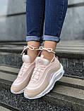 Женские кроссовки Nike Air Max PA65 светло-розовые, фото 3