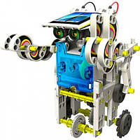 Конструктор робот на солнечных батареях Solar Robot 14 в 1, фото 1