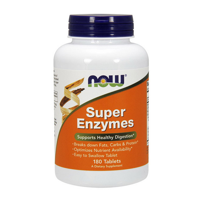 Super Enzymes (180 tabs) NOW