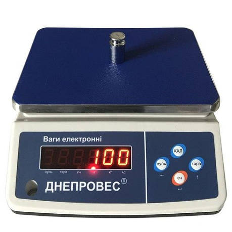 Весы фасовочные Днепровес ВТД-ФД (15 кг), фото 2