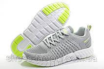 Летние женские кроссовки Baas Ploa Running, Gray\White\Lime, фото 3