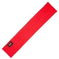 Ленточный эспандер для приседаний Zelart, полиэстер, эластан, р-р 12х80см, красный (BC-1828-80)