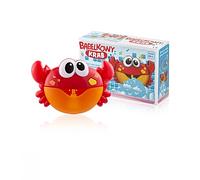 Игрушка для купания на присосках Крабик с пузырьками