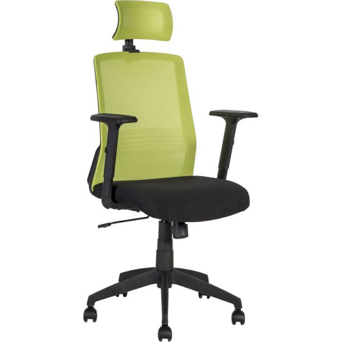 Крісло офісне Office4You BRAVO black-green (21144)