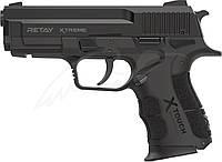 Пистолет стартовый Retay XTreme. Цвет - black., фото 1