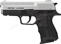 Пистолет стартовый Retay XTreme. Цвет - chrome., фото 1