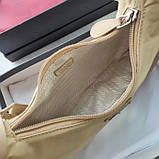 Сумка, клатч від Прада нейлонова репліка 22 см, фото 6