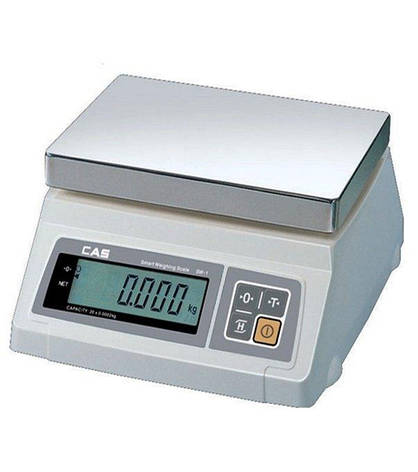 Весы фасовочные CAS SW-10 (10 кг), фото 2