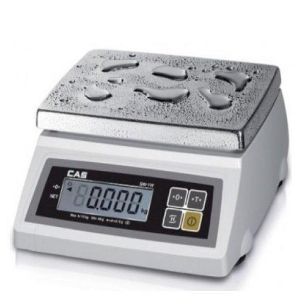 Весы фасовочные CAS SW-5W (5 кг) пыле-влагозащита