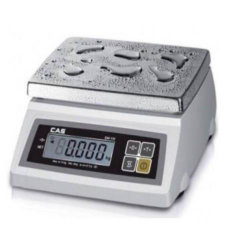 Весы фасовочные CAS SW-5W (5 кг) пыле-влагозащита, фото 2