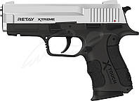 Пистолет стартовый Retay XTreme. Цвет - nickel., фото 1