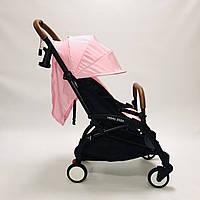 Коляска YOYA 175A+2020 Розовая .гарантия 12 месяцев.большой дождевик