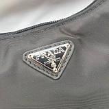 Сумка, клатч від Прада нейлонова репліка 22 см, фото 3
