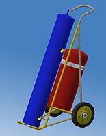 Тележка для баллонов (кислород-пропан), фото 1