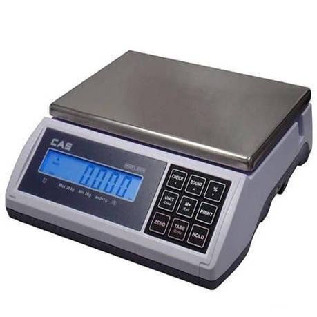 Весы фасовочные CAS ED-6 (3/6 кг), фото 2