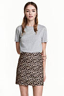 Женская юбка леопардоваяминиH&M, фото 1