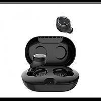 Беспроводные стерео наушники Gorsun V7 Bluetooth + бокс ЧЁРНЫЕ