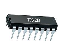 Микросхема TX-2B DIP-14