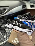 Мужские кроссовки Adidas Ozweego PA72 черные, фото 2