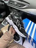 Мужские кроссовки Adidas Ozweego PA72 черные, фото 4