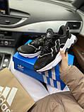 Мужские кроссовки Adidas Ozweego PA72 черные, фото 3