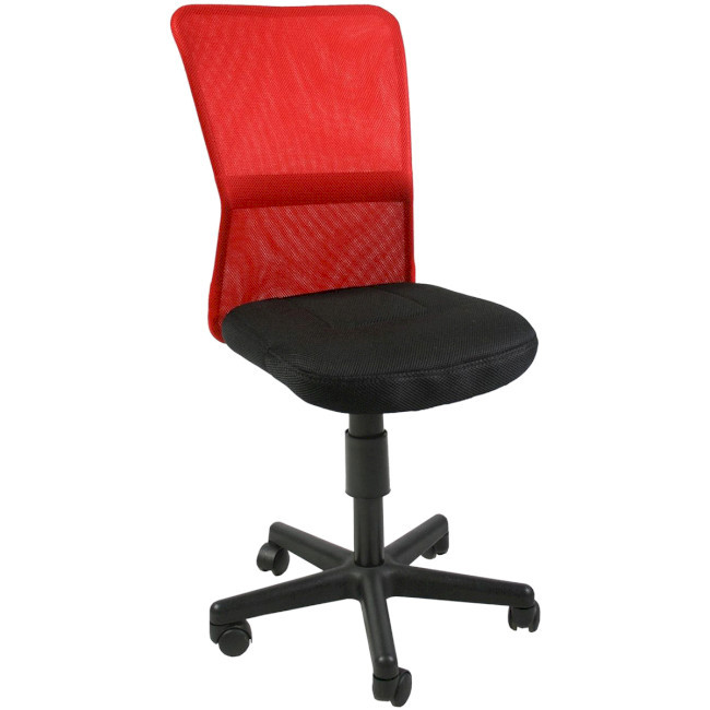 Крісло офісне Office4You BELICE, Black/Red (27735)
