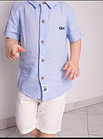 Дитяча сорочка для хлопчика 6-9міс 9-12міс 12-18міс