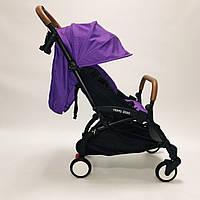 Коляска YOYA 175A+2020 Фиолетовый.гарантия 12 месяцев.большой дождевик