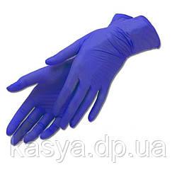 Перчатки нитриловые для мастера маникюра (размер XS) 50 пар в коробке