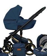 Универсальная детская коляска 2в1 Mikrus Comodo Zlota 5 (Синяя)