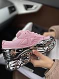Женские кроссовки Adidas Ozweego PA75 розовые, фото 9