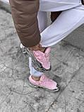 Женские кроссовки Adidas Ozweego PA75 розовые, фото 6