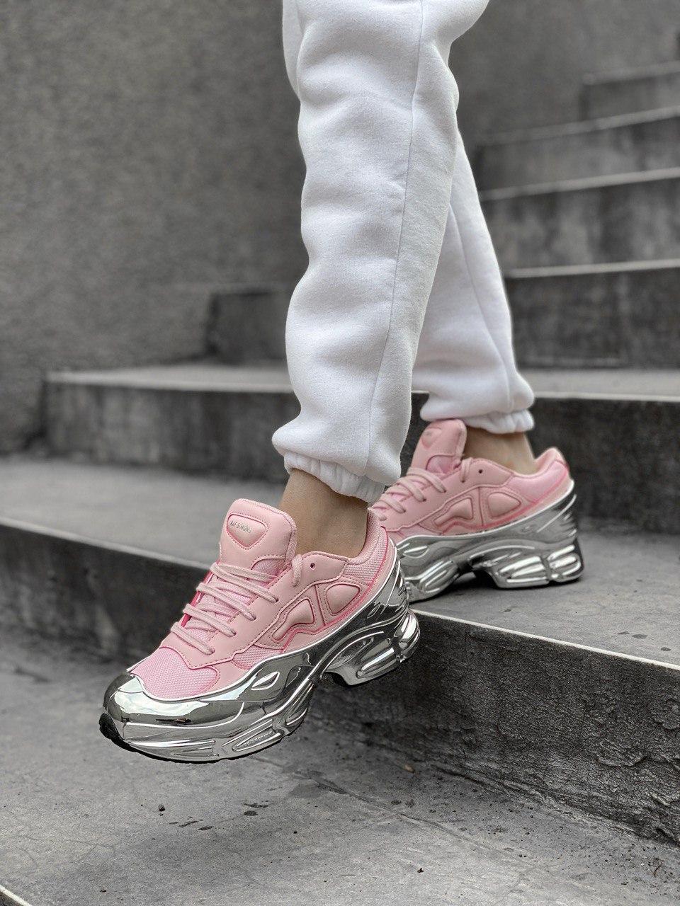 Женские кроссовки Adidas Ozweego PA75 розовые