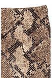 Спідниця жіноча міні зі зміїним принтом H&M, фото 3