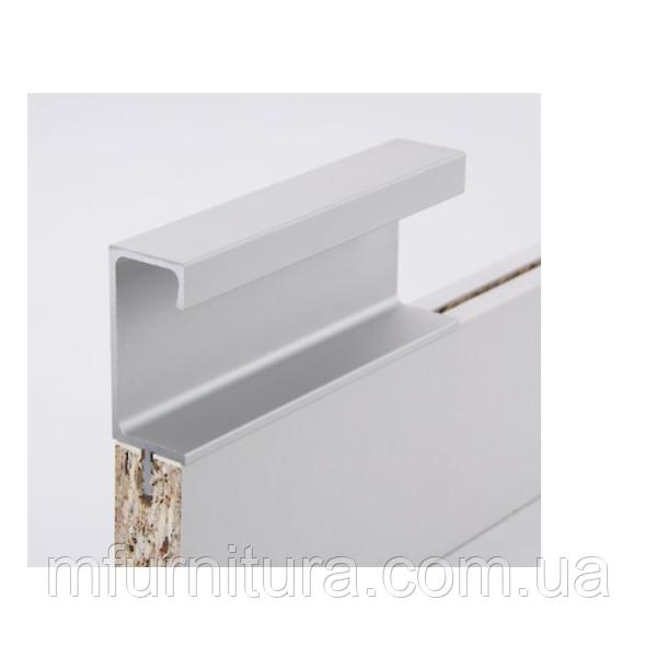 Ручка профиль H3 (алюминий) / H=42 мм 18 мм / 2,97 м / ZOBAL