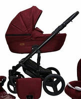 Универсальная детская коляска 2в1 Mikrus Genua 13 (Бордовый)