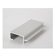 Ручка профиль H3 (алюминий BRUSH) / H=42 мм 18 мм / 2,97 м / ZOBAL, фото 4