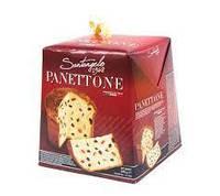 Панеттоне родзинки і цукати Santagelo PANETTONE tradizionale 500г Італія