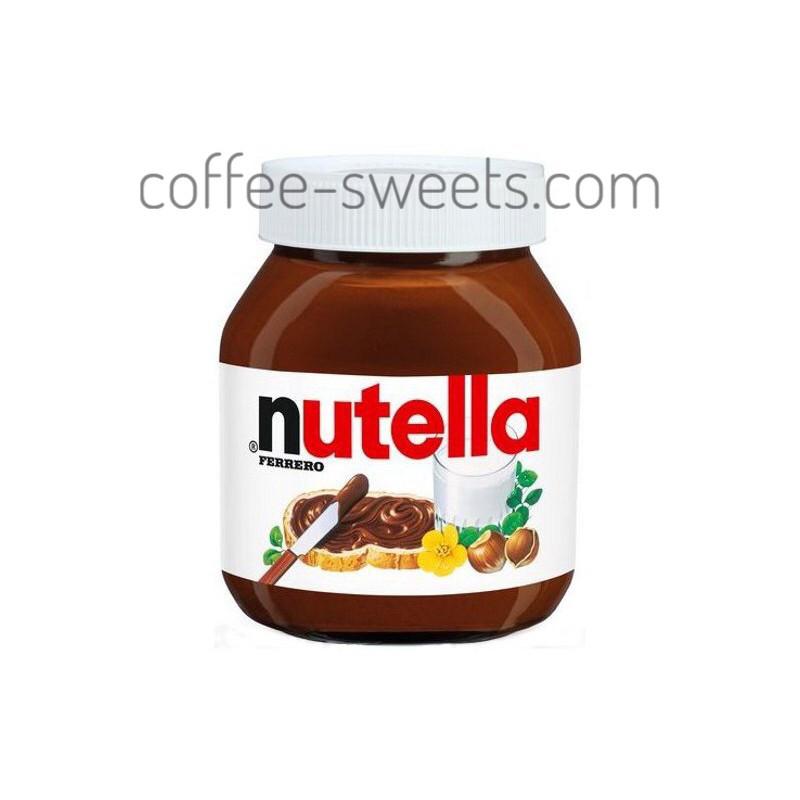 Шоколадная паста Nutella weekend 600g