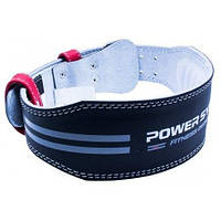Пояс для тяжелой атлетики Power System Dedication PS-3260 Black/Red XL, фото 1