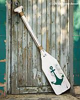 Весло деревянное декоративное одностороннее, фото 1