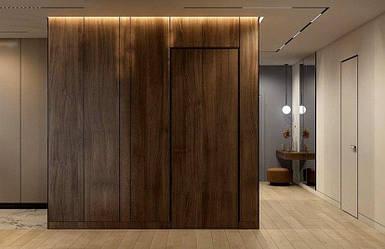 Шпонированные скрытые межкомнатные двери
