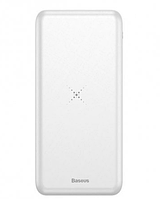 Внешний аккумулятор Baseus Power Bank Wireless Charger M36 10000 mAh White